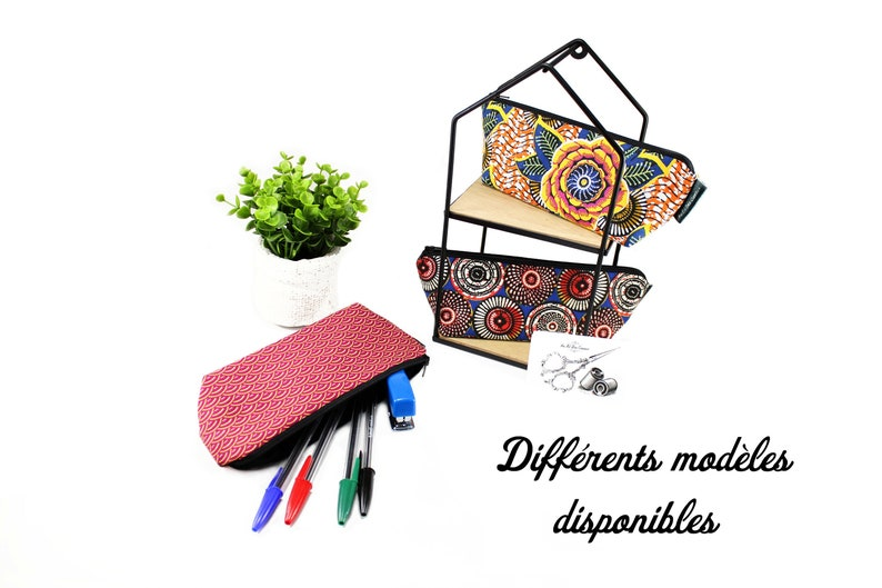 Cotton office kit // School kit // Fourre tout // School kit image 0