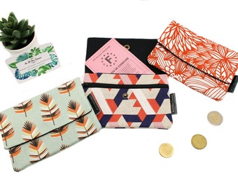 XXL cotton coin holder // Women's pocket [old collection]