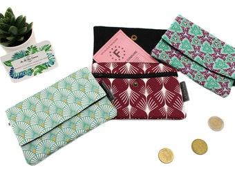 XXL cotton coin holder // Women's pocket