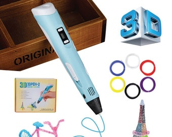 3D Pen - Printing Doodler for Kids and Adults - Heated Drawing Printer Pen With LED Display