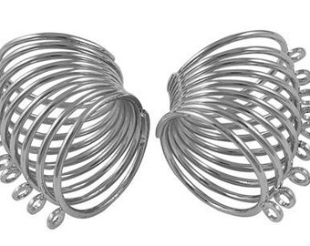 ❤ 1 X ring multi ring silver 18mm ❤