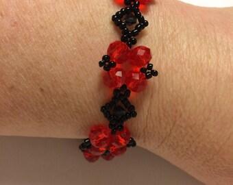 Handmade victorian style bracelet