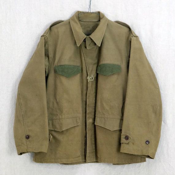 Vintage Parisian military jacket