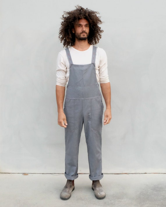 Unisex workwear overalls.