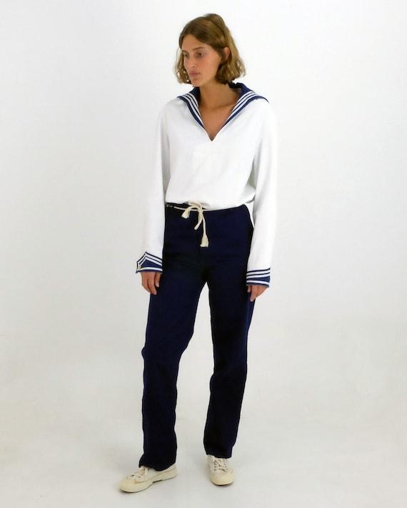 Original Vintage French Sailor Shirt