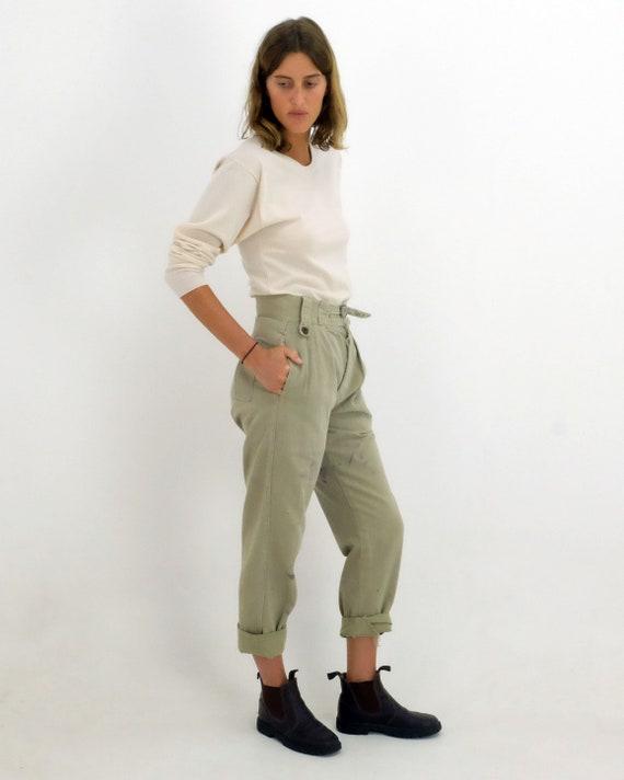 1950's Vintage Australian Military pants.