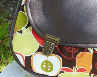 Shoulder bag / Messenger bag / bag retro / vintage bag / handy purse / bag pockets / autumn bag / gift for her / bee kouz
