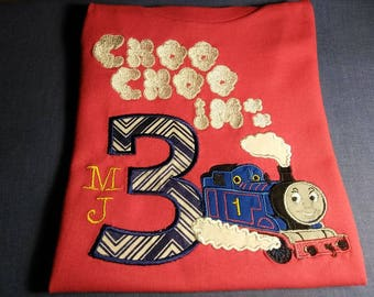 Train Birthday Shirt