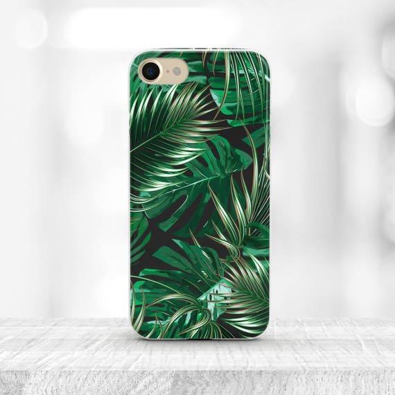 image 0 Tropical iPhone Case Samsung Galaxy s9 Palm Leaf 6 | Etsy