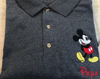 a5a06516b Classic Mickey Personalized Polo Shirt