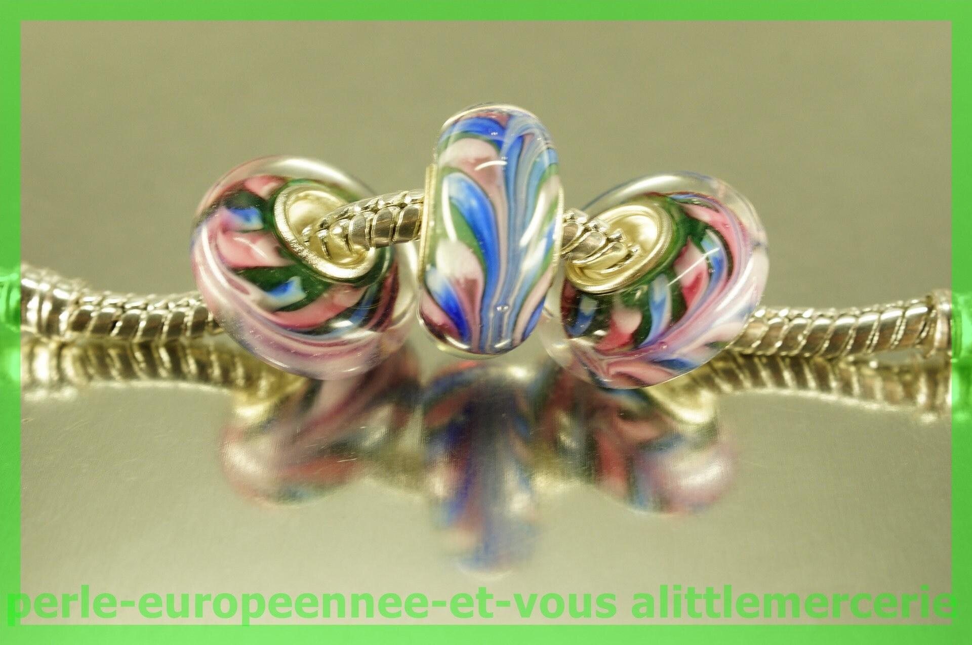 perle verre europeenne europeenne europeenne HQ348 pour bracelet collier charms 2cd63a
