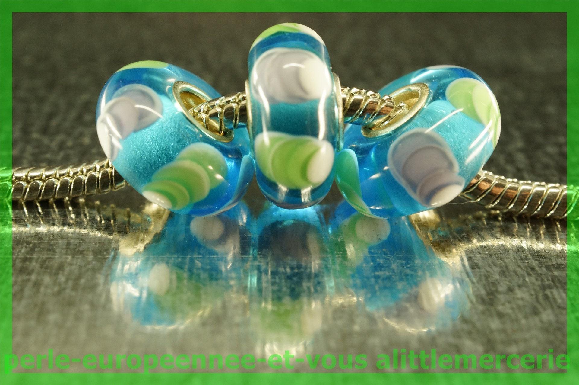perle verre europeenne HQ947 bracelet pour bracelet HQ947 collier charms 5507f3
