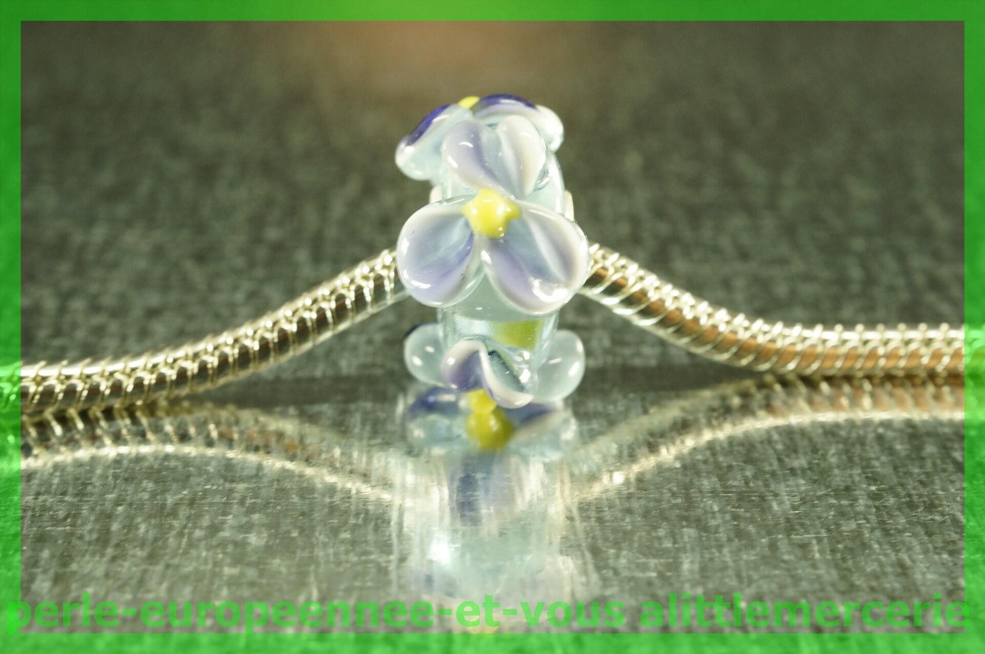 perle verre europeenne HQ21 pour bracelet collier collier collier charms e1fb0d