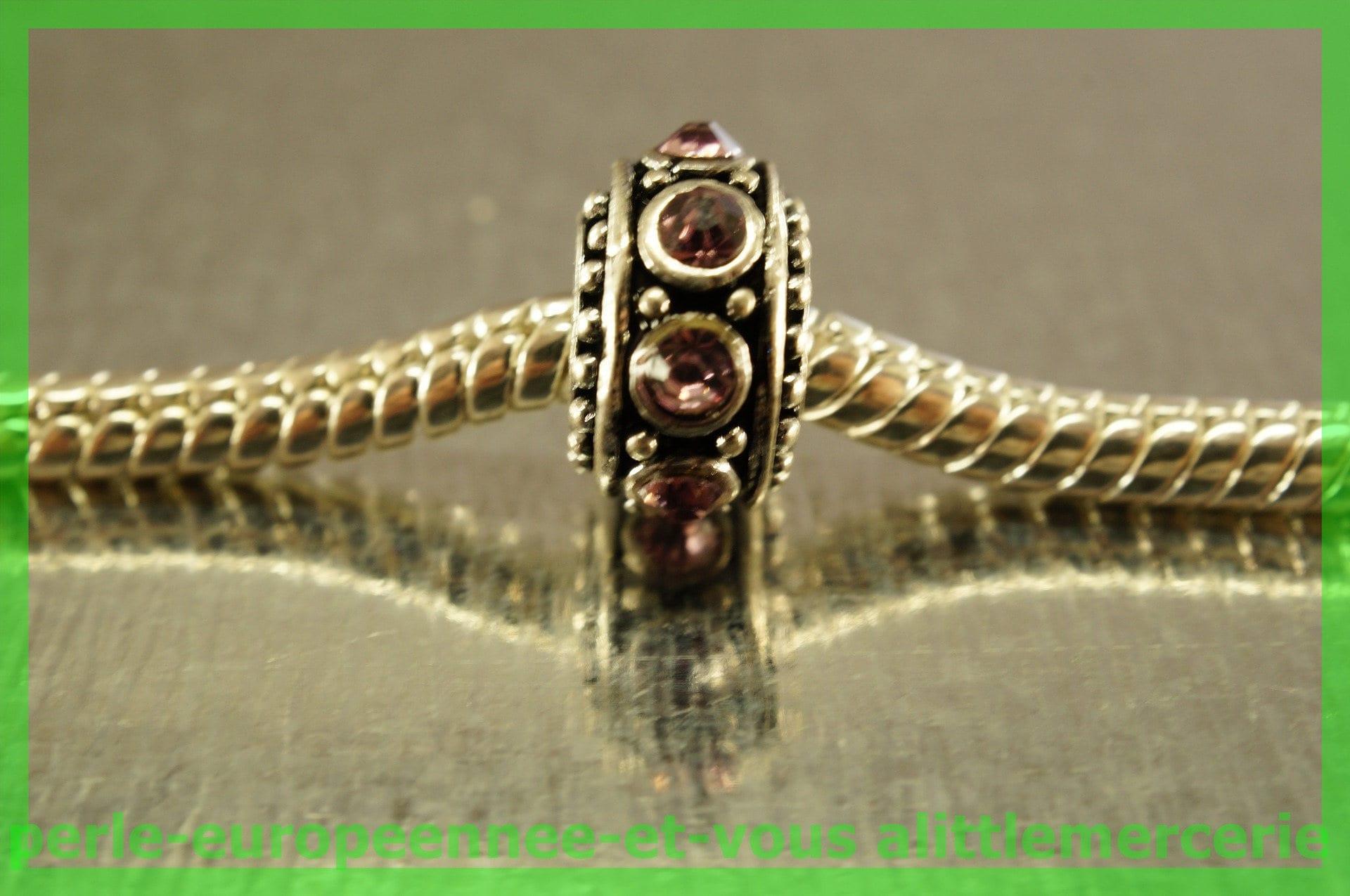 perle europeenne N451 strass intercalaire intercalaire intercalaire pour bracelet charms 33cbb9