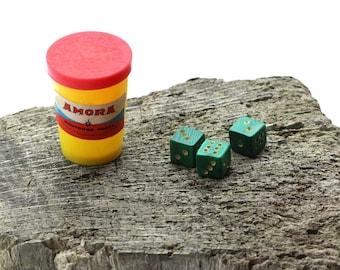 vintage dice game amora mustard