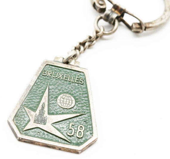 advertising Brussels 58 keychain