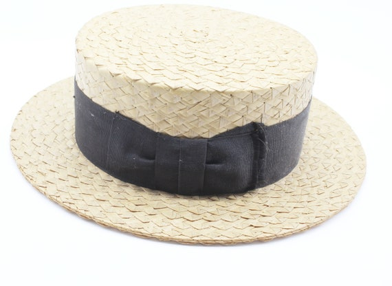 antique straw hat