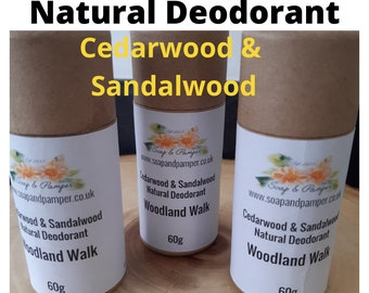 Natural Vegan Deodorant Stick