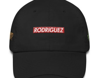 Family Name and Dominican Culture Custom Dad hat Cotton Cap c06b0a46b54