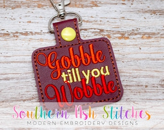 DIGITAL DOWNLOAD - Gobble till you Wobble SnapTab