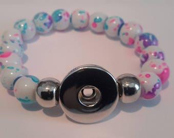support a snap bracelet