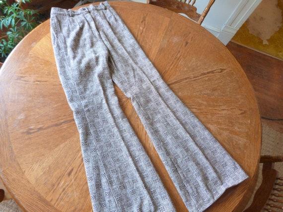 Vintage 70's Women's Bell Bottom Pants-