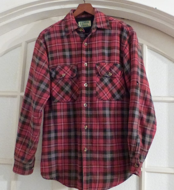 Vintage 90's Quilted Flannel- Men's XL