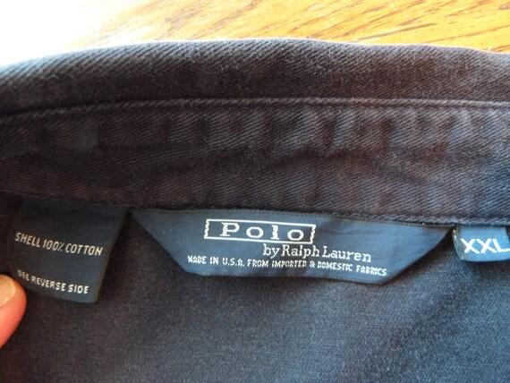 Rare 1980's Ralph Lauren Vintage Polo Jacket in M… - image 3