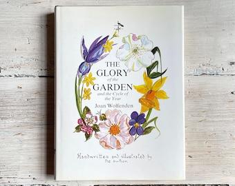 The Glory of the Garden, Vintage Nature Book, Hand-written Illustrated, Housewarming Present, Birthday Gift Her, Mum Aunt Grandma Sister Nan