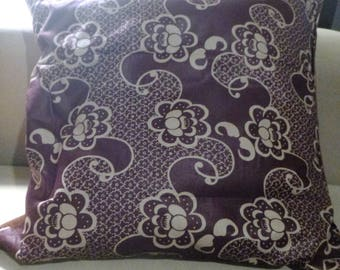 Purple and Brown pillow