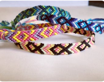 9ebb044a3819a Friendship Bracelets | Etsy UK