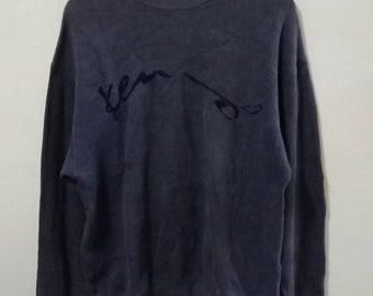 069eb05a Mega Sale!!!Vintage Sweatshirt Kenzo Spell Out / Embroidery Made In Japan /  Kappa Trussardi Fila