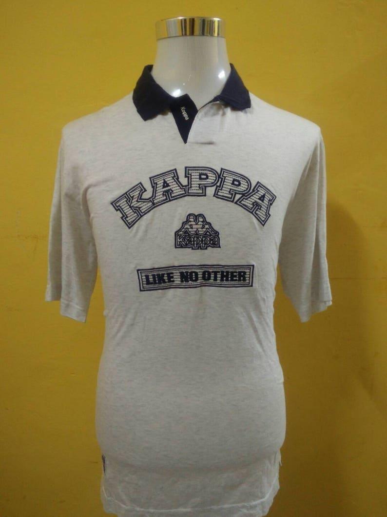 5d7eb28f49 KAPPA Embroidery Big Logo shirt polo original | Etsy