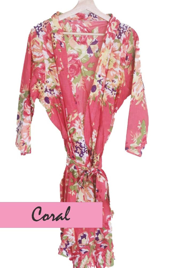 Bridal Party Robes Bridesmaids Gift Getting Ready Robes Set of 7 Bridesmaid Robes Robes for Bridesmaids Gift for Bridesmaids