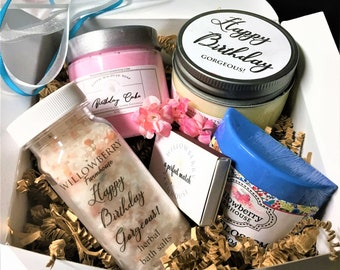 Custom Birthday Gift Box Ideas Happy Basket Gifts For Her