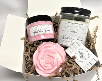 Custom Birthday Gift Box Ideas Happy Basket For Mom Sister Girlfriend