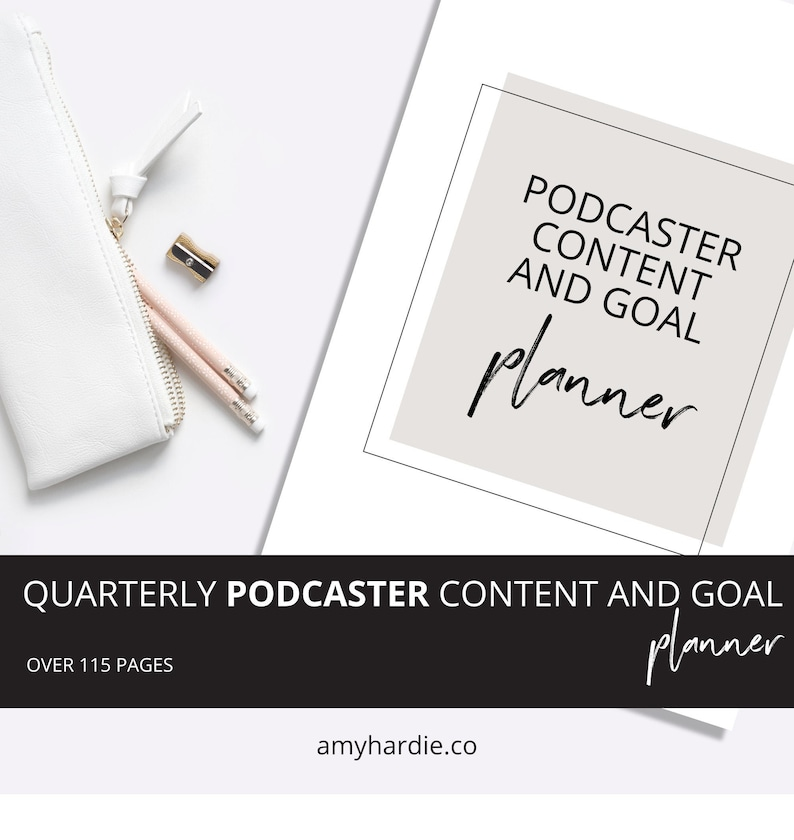 Podcast planner Podcasting planner Podcast content planner image 0