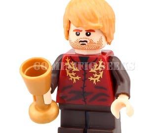 Custom Tyrion Lannister Minifigure Game of Thrones GOT Fits Lego UK Seller