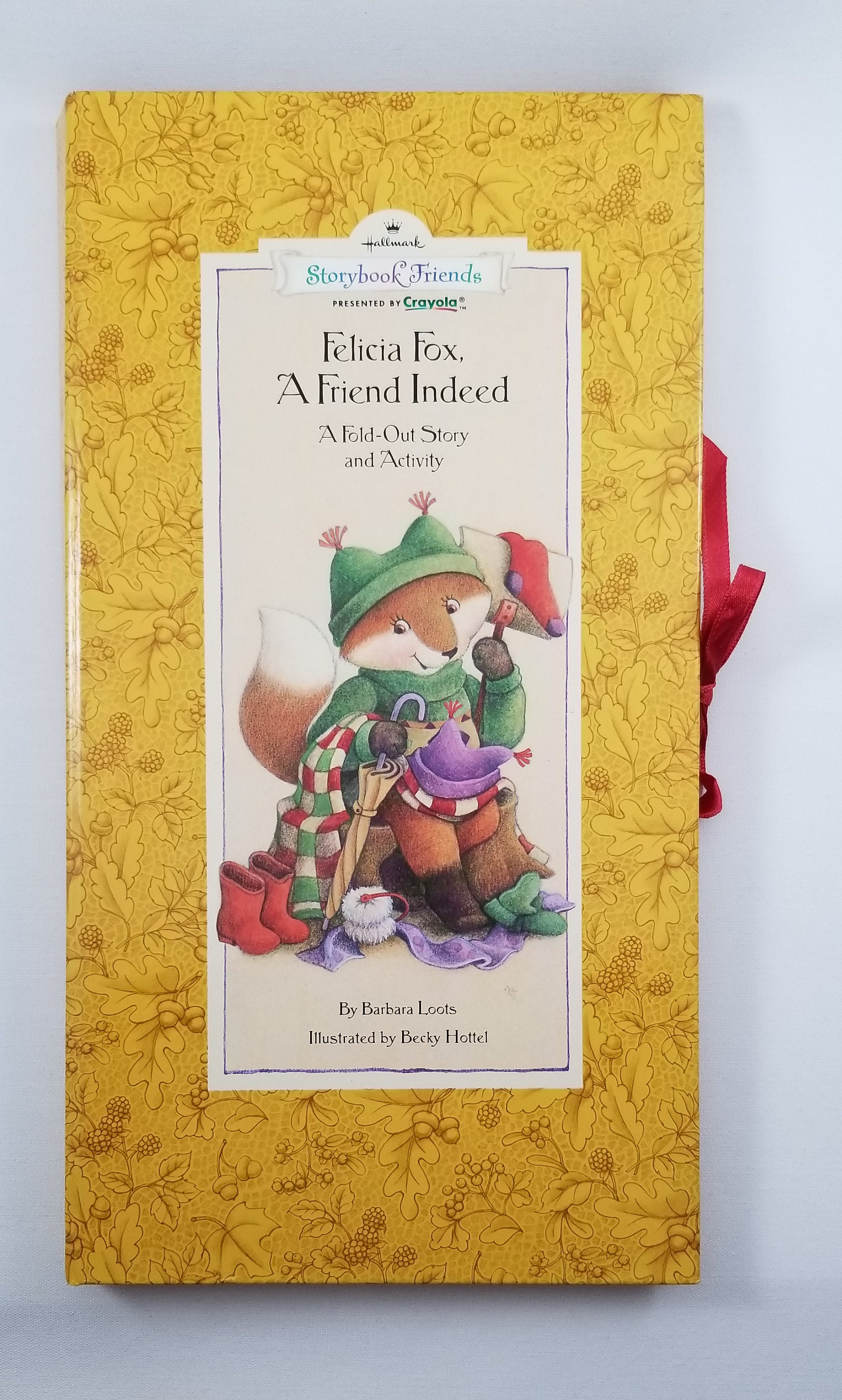 Felicia Fox children's activity book ~ felicia fox - a friend indeed