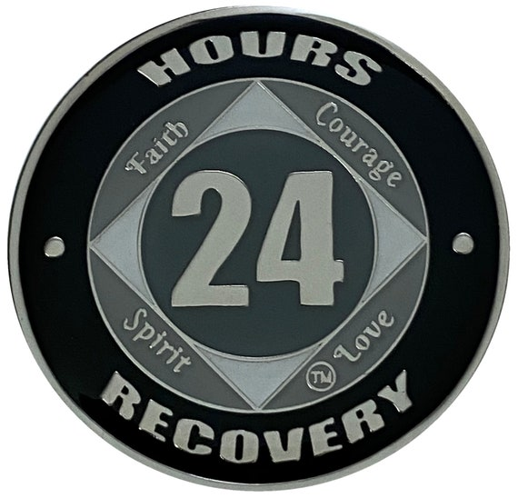 NA 24 Hours Coin, Narcotics Anonymous Medallion