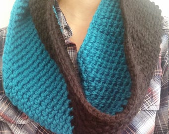 Black and Blue Cowl