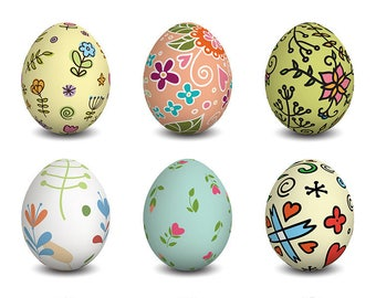 ORIGINAL PLACEMAT, aesthetics, WASHABLE and durable - Easter eggs decorated 2.