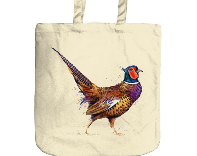 Pheasant Tote Bag | Beach Bag