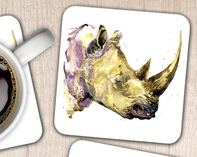 Set of 4 Rhinoceros Coasters