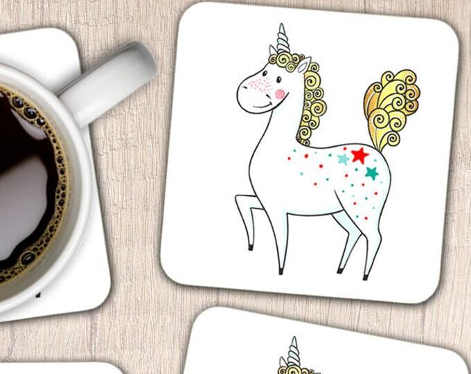 Magical Unicorn Coasters