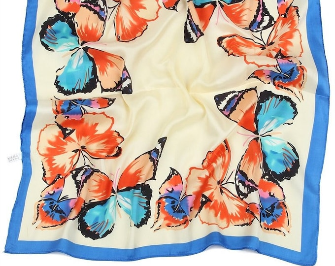 Butterfly Scarf | Neck and Hair Scarf