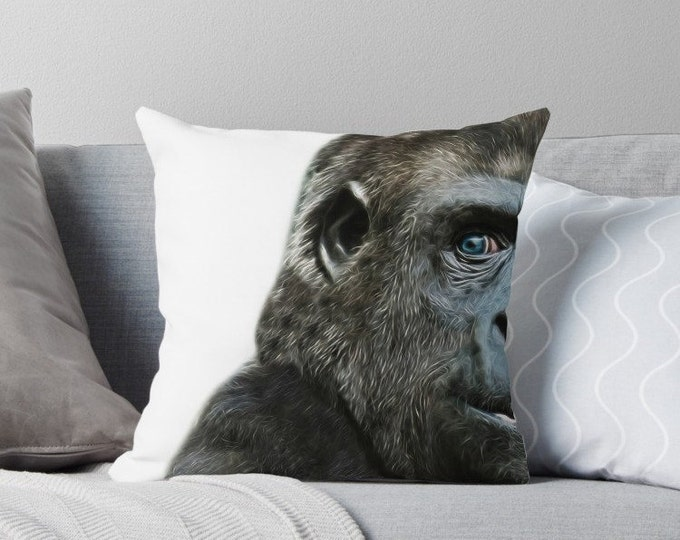 Featured listing image: Gorilla Cushion | Pillow