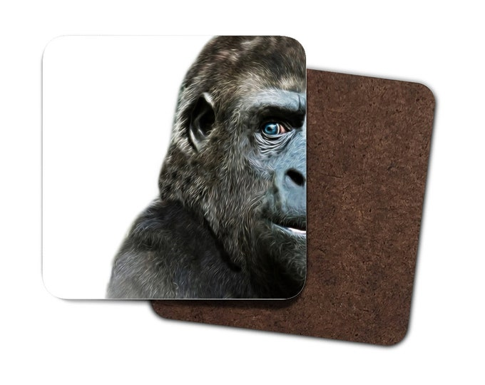 Set of 4 Gorilla Coasters