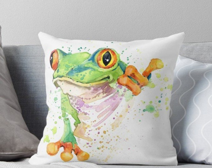 Frog Cushion | Pillow