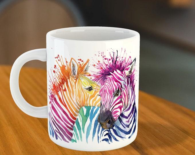 Zebra Mug